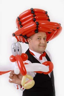 Ballonkünstler mieten für Autohaus - Stadtfest - verkaufsoffener Sonntag
